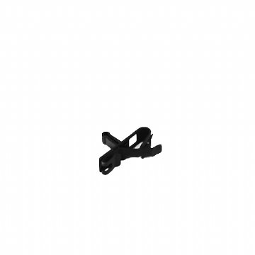 Sennheiser MZQ02 Microphone Clip for MKE-1 and MKE-2 (Black)